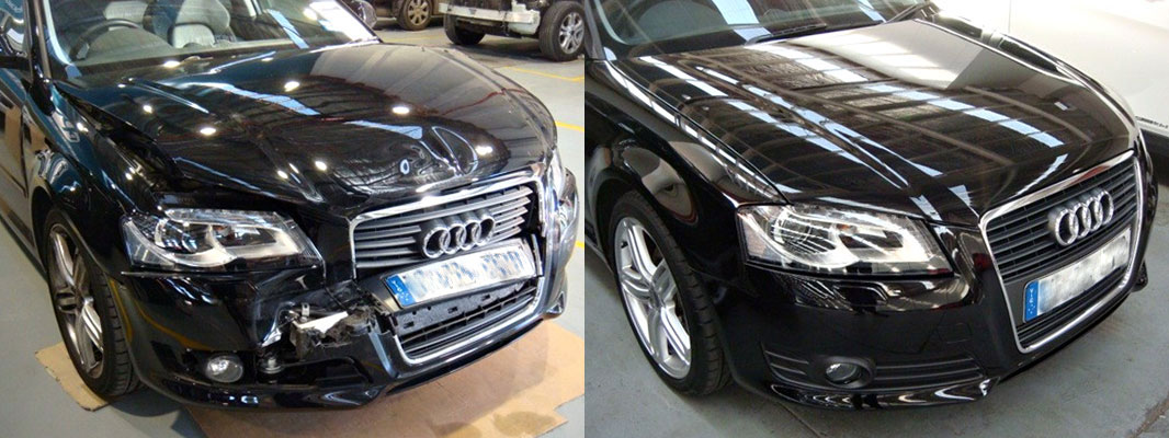 Before And After Smash Repairs Spencer Panel Beaters Melbourne