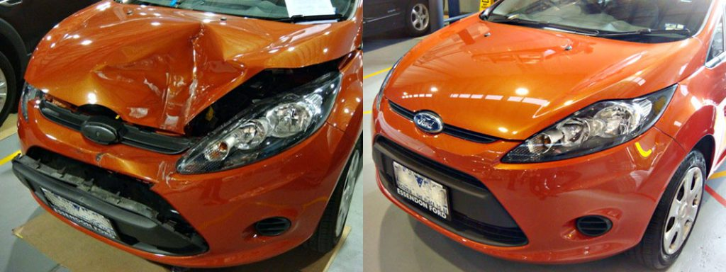 Before And After Smash Repairs Spencer Panel Beaters